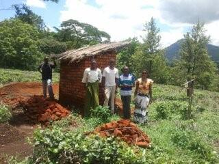 Graveyard latrines, Malawi